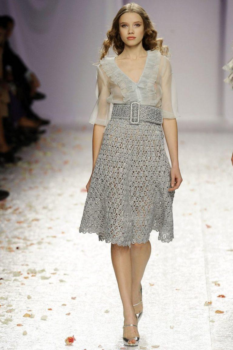 Коллекции Вязаного Платья